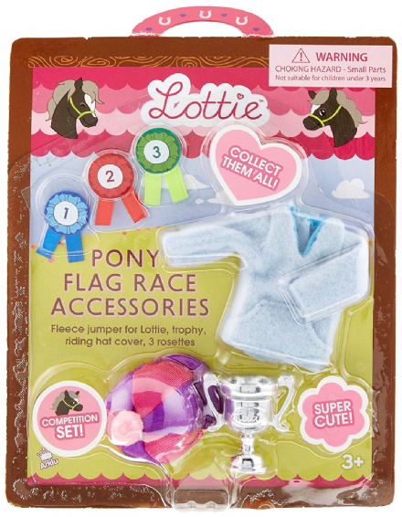 Lottie Doll Accessory Set - Pony Flag Race